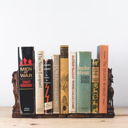 Expandable Black Forest Wild Goat Book Rack - circa 1890