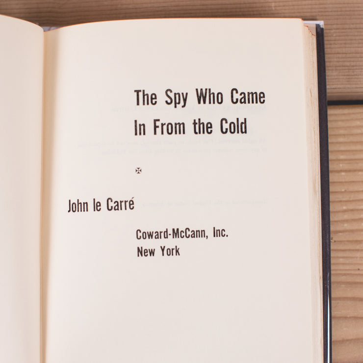 John Le Carre's The Spy Who Came in from the Cold