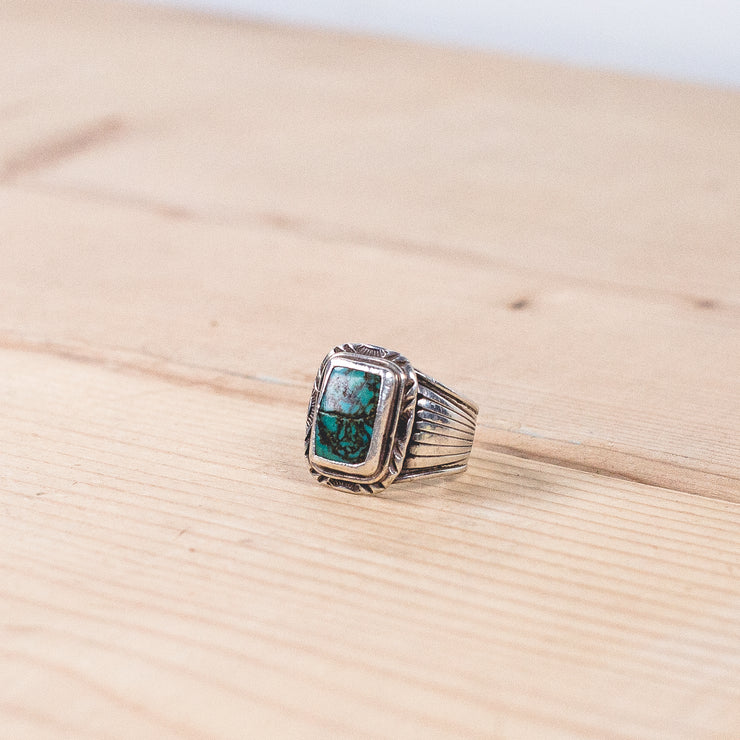 Will Denetdale Navajo Turquoise Ring