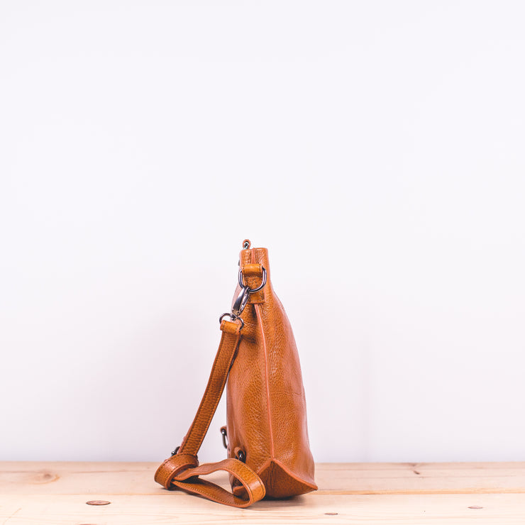 Nuoli Mini Backpack in Tan