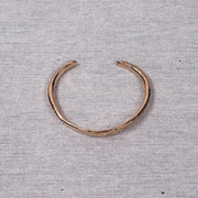 Crescent Cuff in Gold Bronze