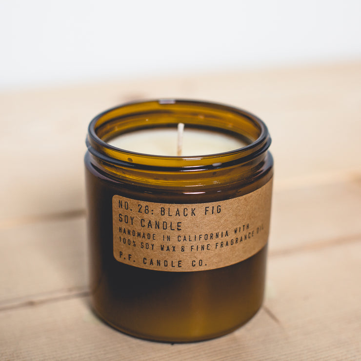 No. 28 Black Fig Candle