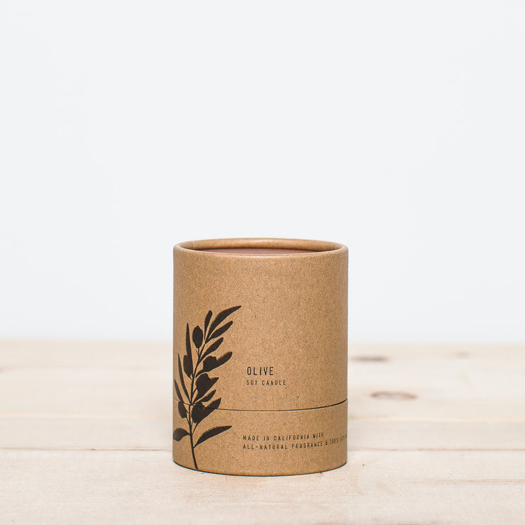 No. 4 Olive 8 oz Terra Soy Candle