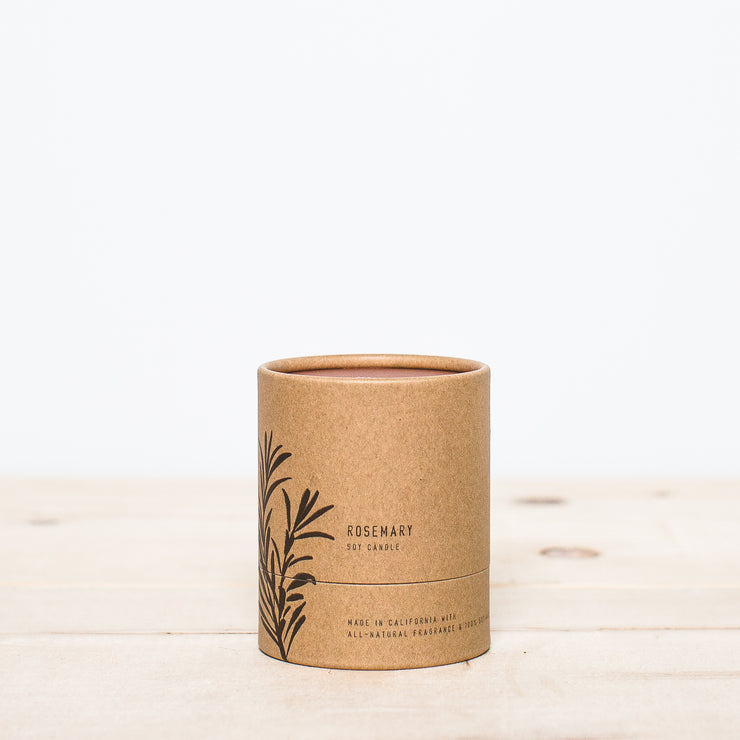 No. 5 Rosemary 8 oz Terra Soy Candle