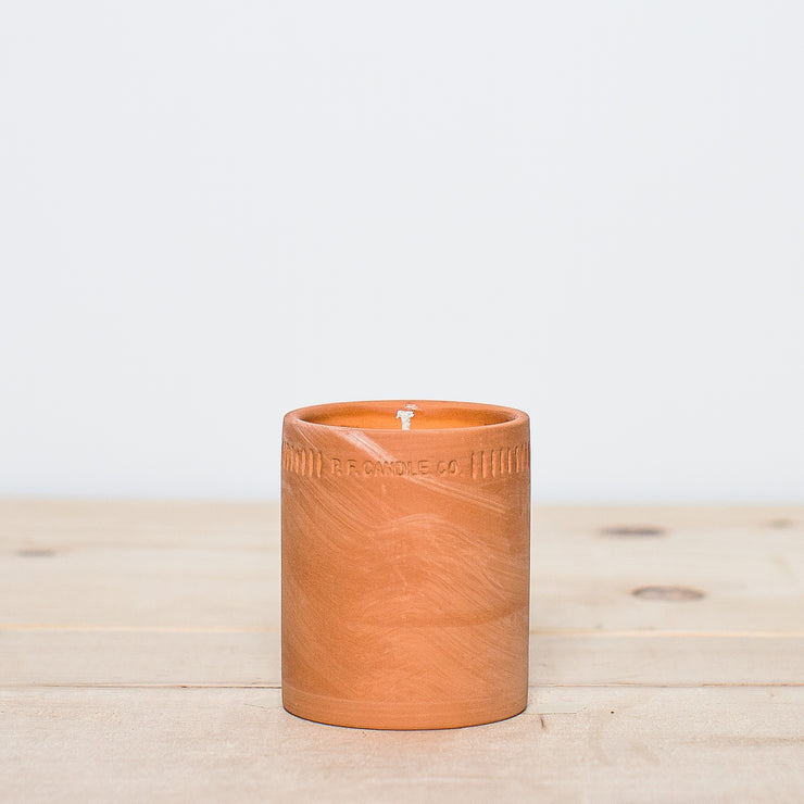 No. 7 Western Red Cedar 8 oz Terra Soy Candle