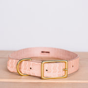 Willis Dog Collar - Embossed Rio (Large)