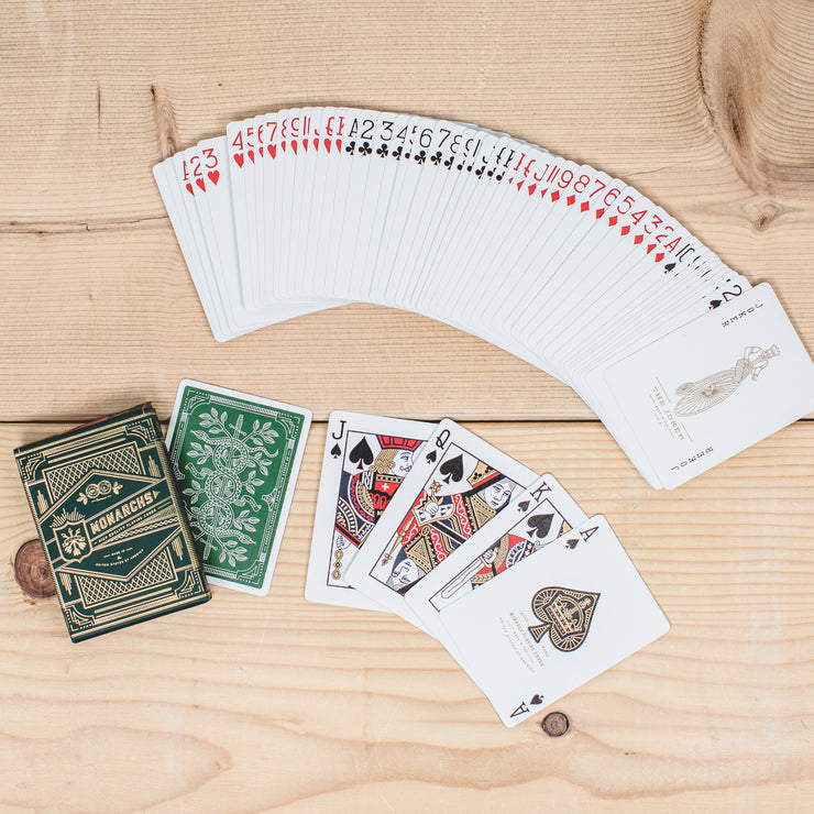 Monarchs Playing Card Deck
