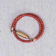 Centerfire Bracelet - Braided Saddle Tan