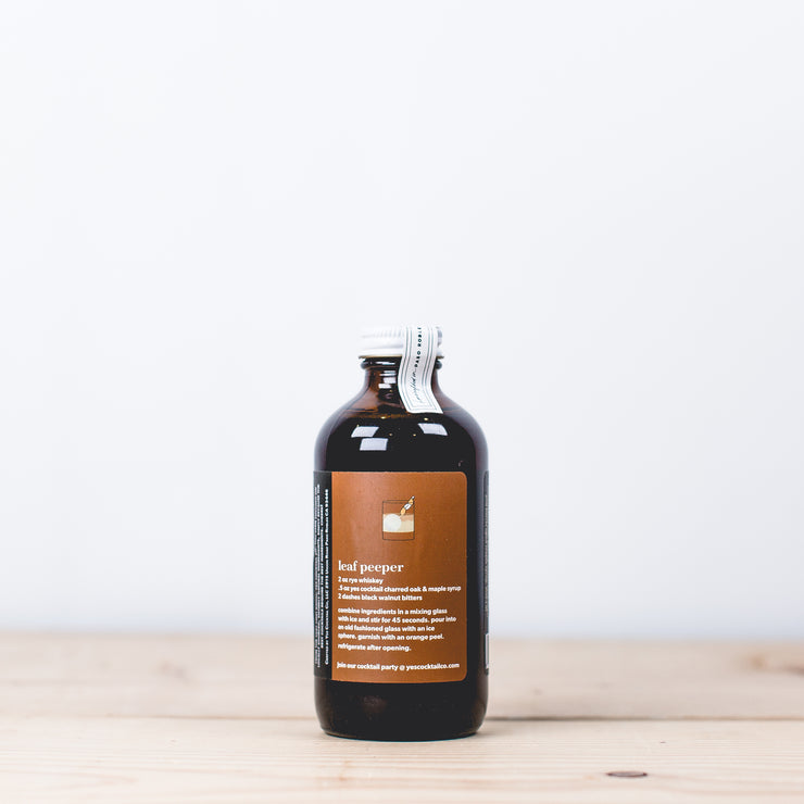 Charred Oak & Maple Cocktail Syrup