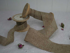 Hessian and Rustic Ribbons