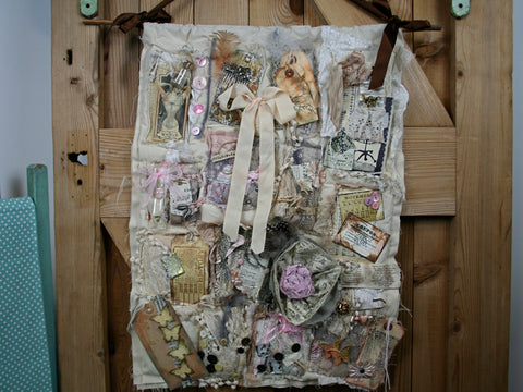 Mixed Media Collage - Shabby Chic