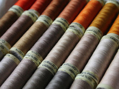 Gutermann Sew All Thread - Oranges & Browns