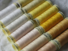 Gutermann Sew All Thread | Creams & Yellows