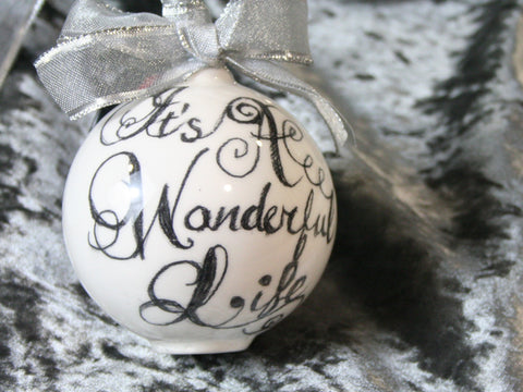 It's A Wonderful Life Bauble