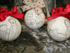 Nativity Baubles