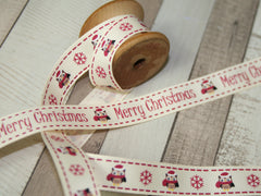Owl Christmas Ribbon