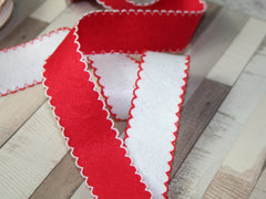 Felt Scallop Edge Ribbon