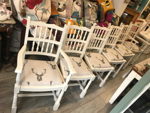 Spindle Stag Chairs