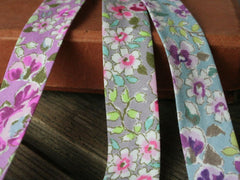 18mm Vintage Floral Bias Binding | 3 Colours