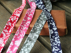 18mm Floral Bias Binding | 4 Colours