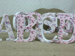 Shabby Chic Letters.