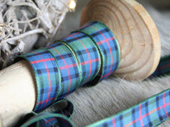 Flower of Scotland tartan ribbon.