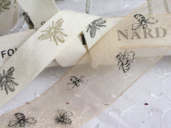 Bee Print Ribbons at Elliemagpie