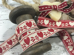 Reversible Heart Ribbon