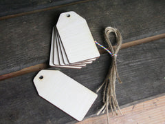 Wooden Shapes - Tags. Only available at Elliemagpie.