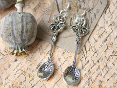 Spoon Charm Earrings from The Old Laundrette.