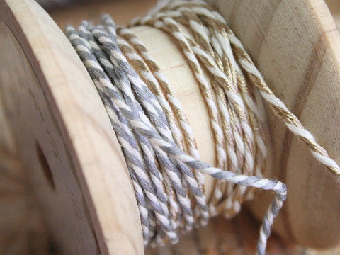 Baker's Twine Gold & Silver