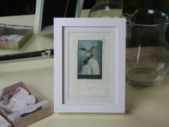 Hare Print on Canvas