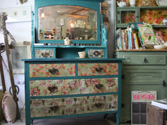 Decoupage Dressing Table