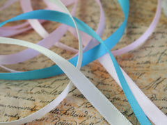6mm Satin Ribbon Pastels