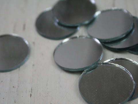 Round Craft Mirrors