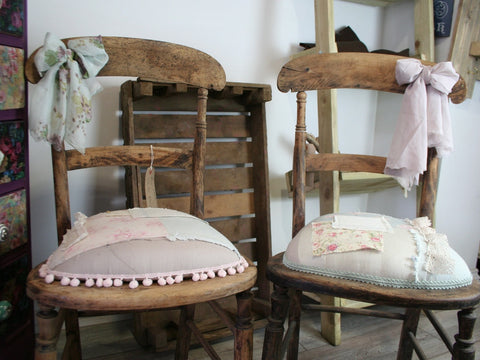Shabby Patchwork Chairs