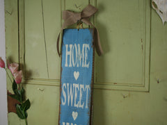 Home Sweet Home Rustic Sign