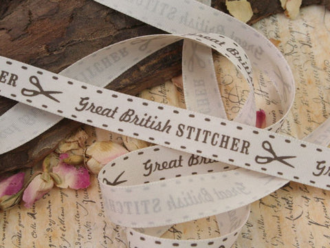 Great British Stitcher Ribbon
