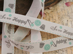 Sew Happy Ribbon