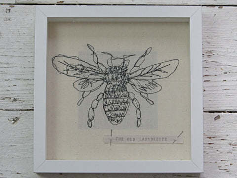 Embroidered Bumble Bee