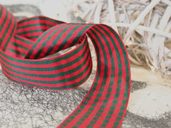 Wide Gingham Ribbon