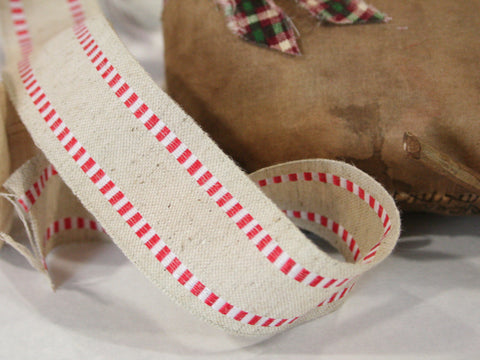 Hessian Stripe Ribbon - Wired