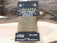 Extra strong linen thread.