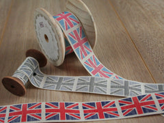 Vintage Flag Union Jack Ribbon | By the metre
