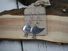 Silver Bird Earrings from The Old Laundrette.
