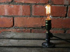 Edison Bulb  Pipe Desk Lamp