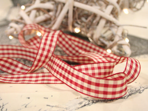 Country Gingham Ribbon