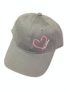 Heart Hook - Velcro Back - Youth Hat