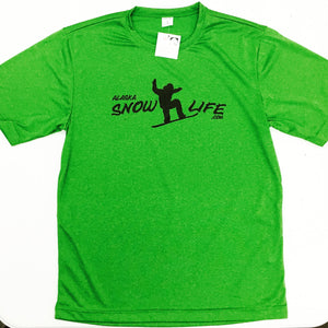 Alaska Snow Life - Snowboard - Performance T-Shirt - Adult (CLEARANCE)