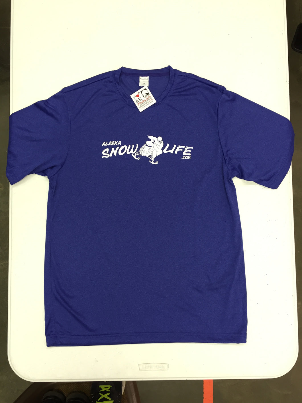 Alaska Snow Life - Snowmachine - Performance T-Shirt (CLEARANCE)
